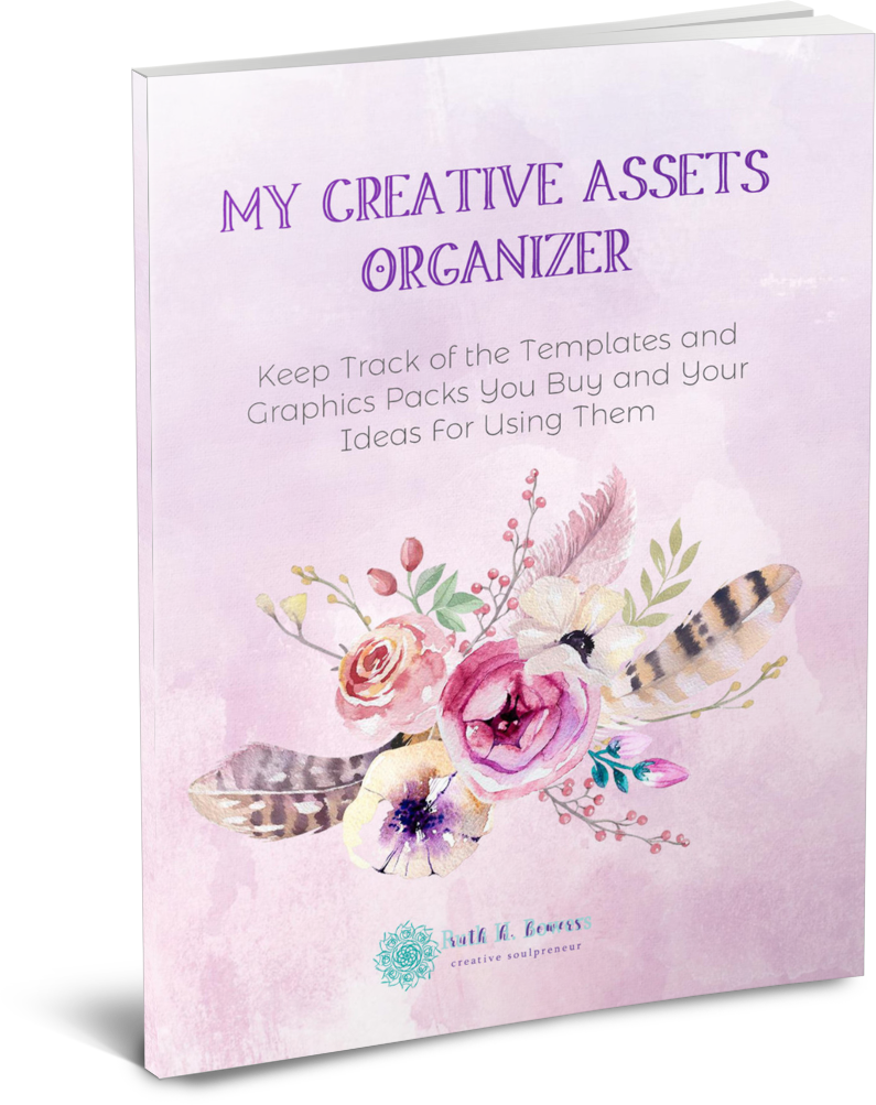 creative assets organizer printable