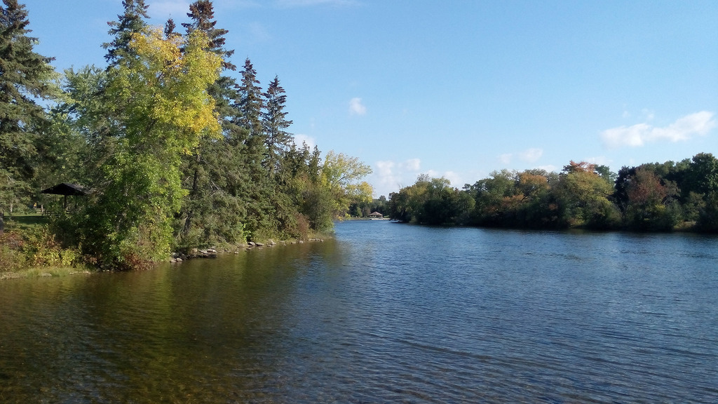 Otonabee River photo by Ruth Bowers