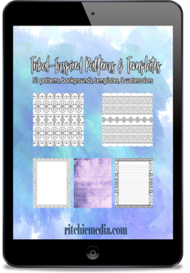 tribal pattern and template pack