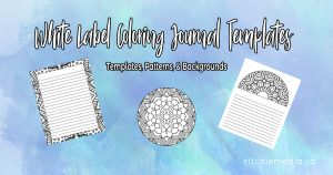 Coloring Journal Templates Vol3