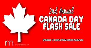 Canada Day Flash Sale
