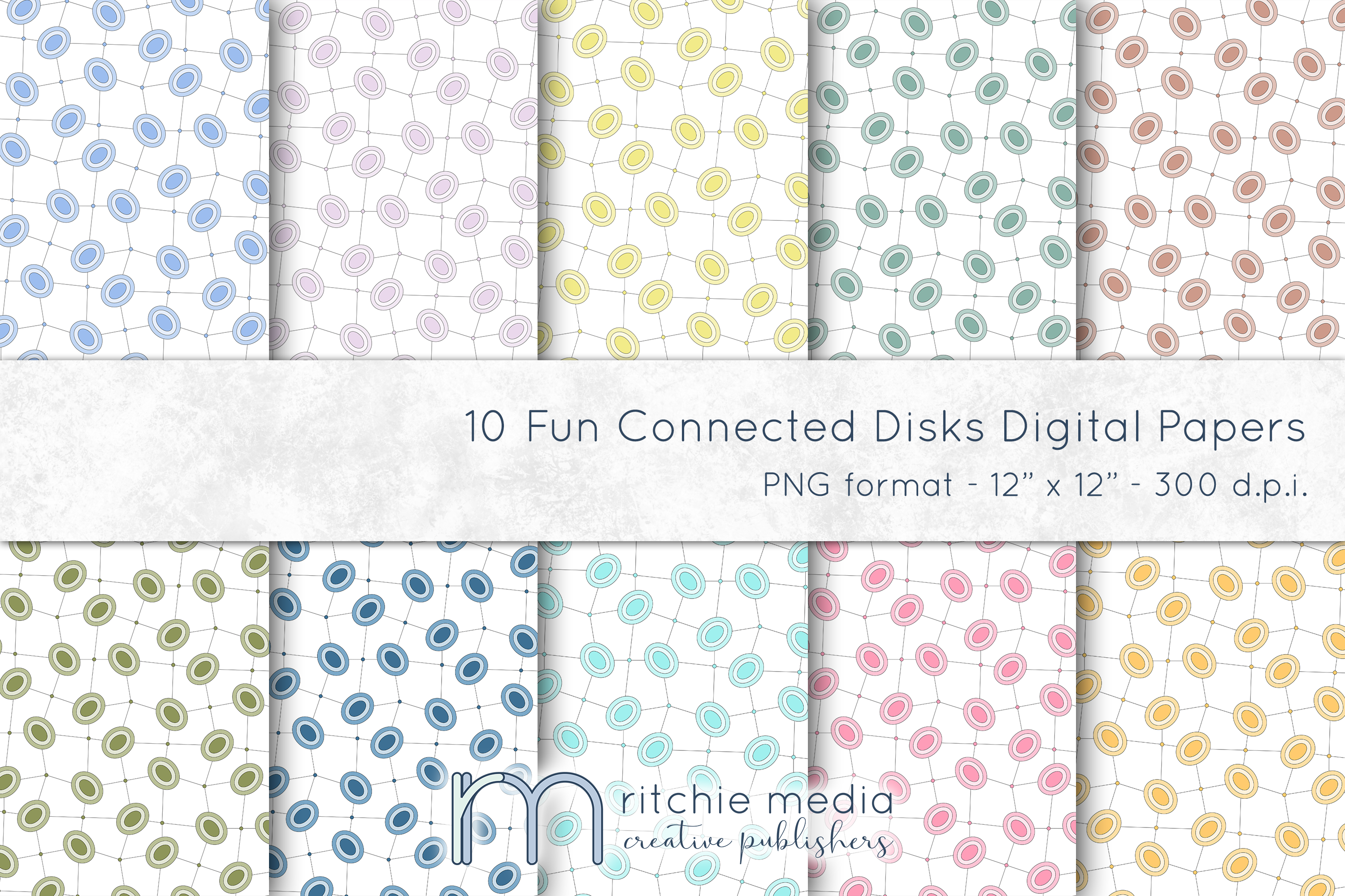 Fun Connected Disks Digital Papers