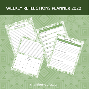 weekly reflections planner