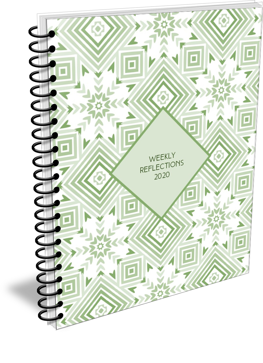 2020 weekly reflections planner