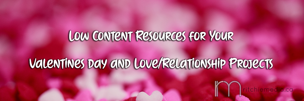 Low Content Resources for Valentines Day