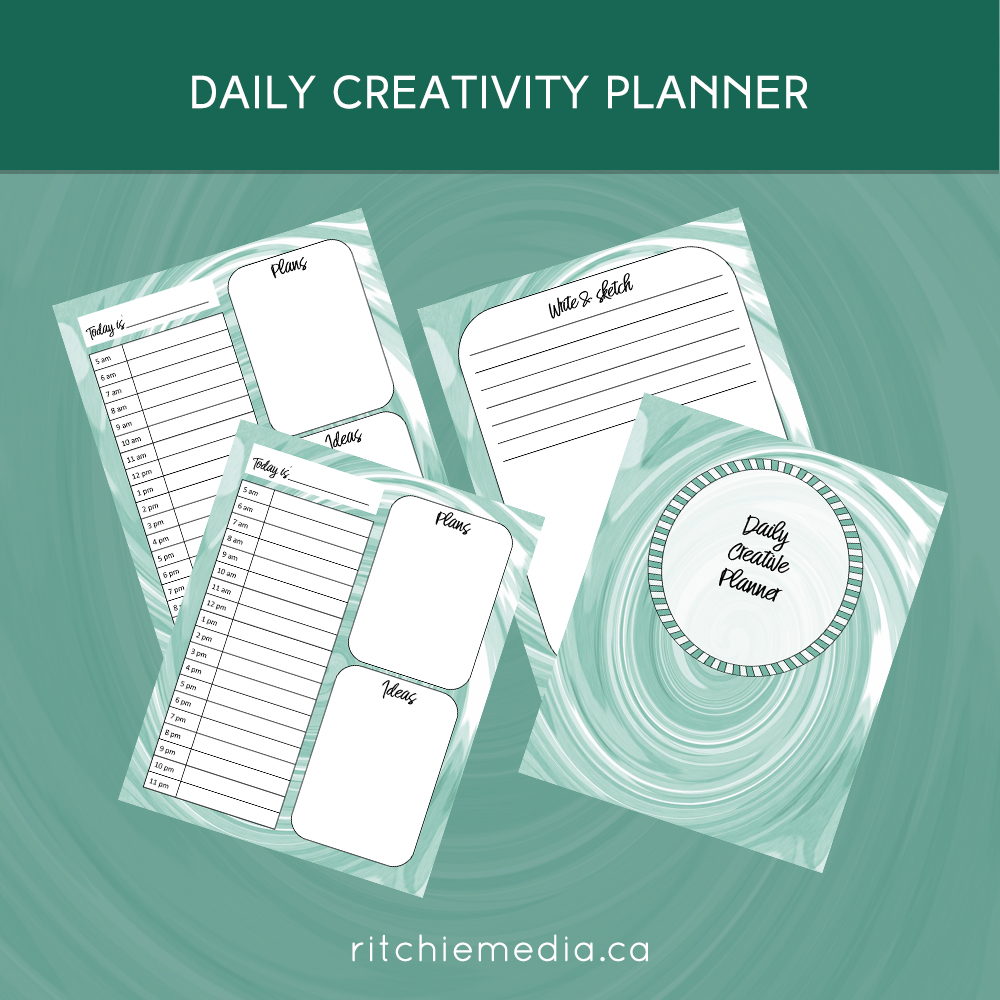 daily creativity planner
