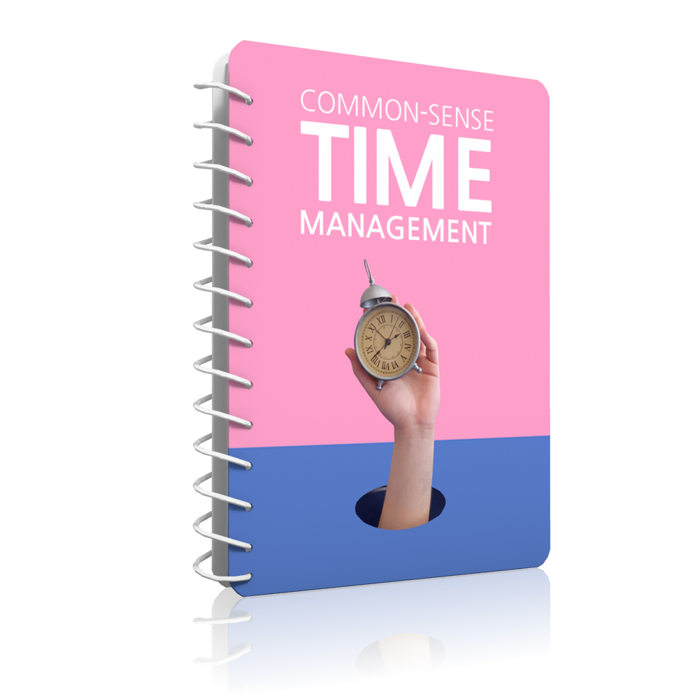common sense time management cover