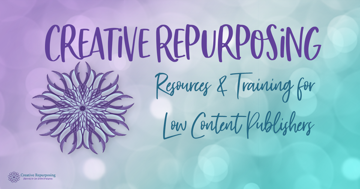 Creative Repurposing Facebook Group