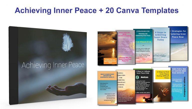 Achieve Inner Peace Promo Image