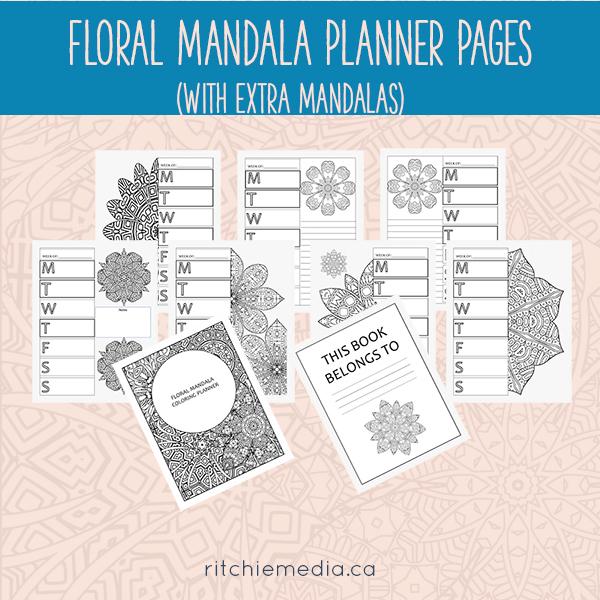 floral mandala promo image