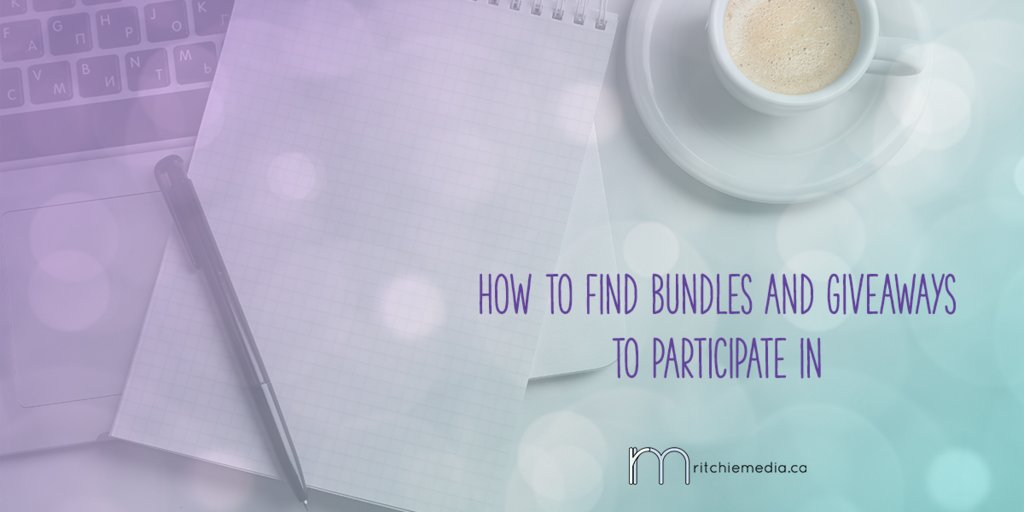 how to find bundles and giveaways to participate in