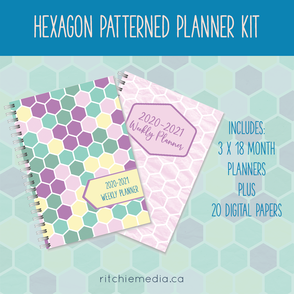 Hexagon Planners Promo Image