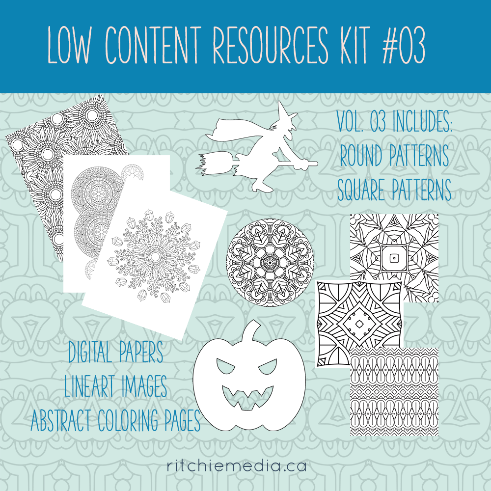 Low Content Resources Kit 03