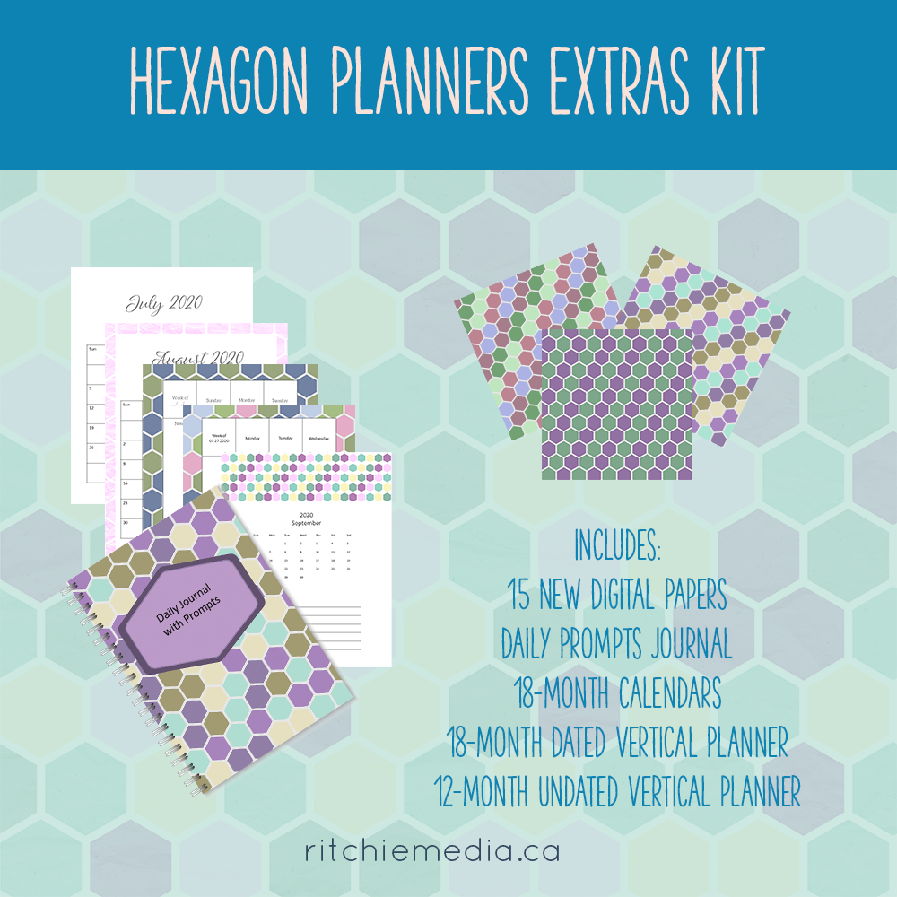 Hexagon Planner Addon Kit