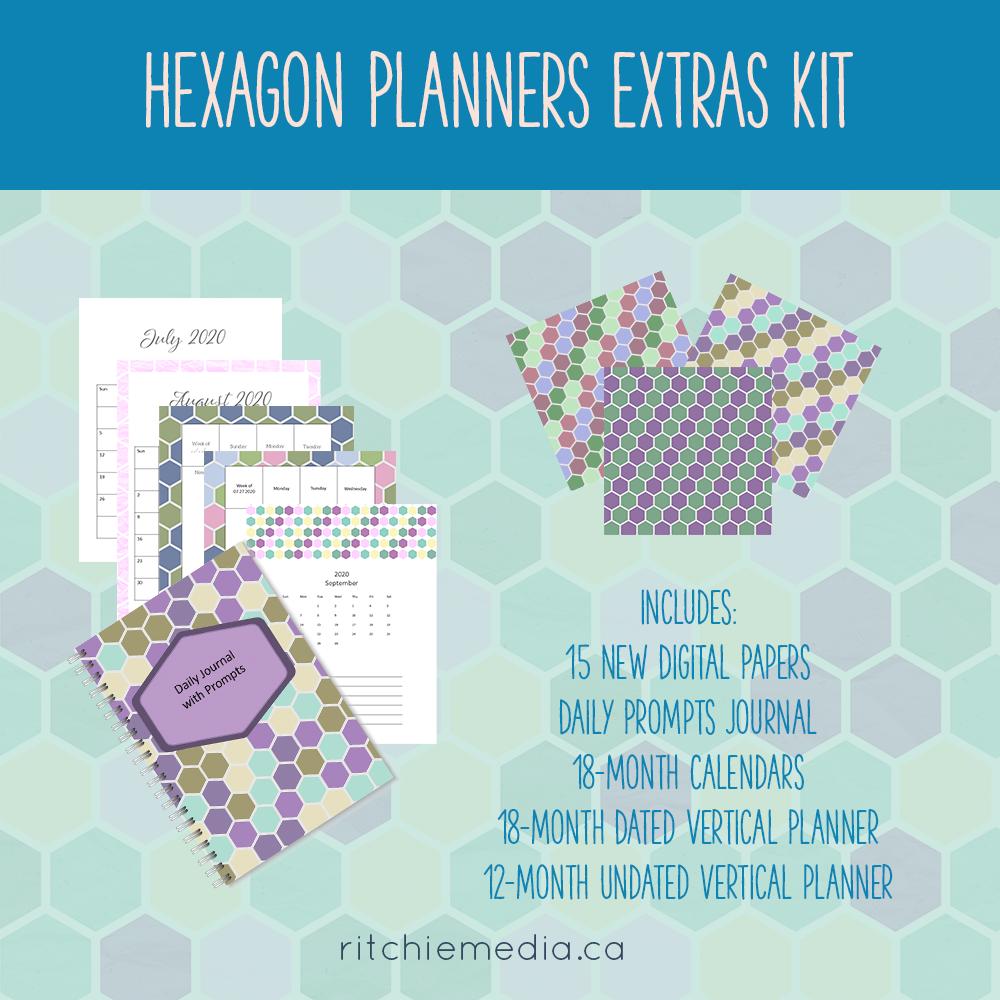 Hexagon Planner Addon Kit