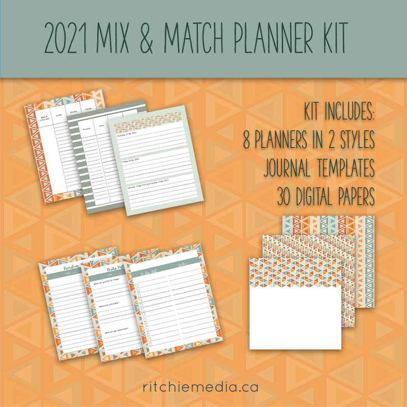 mix and match planner kit 3
