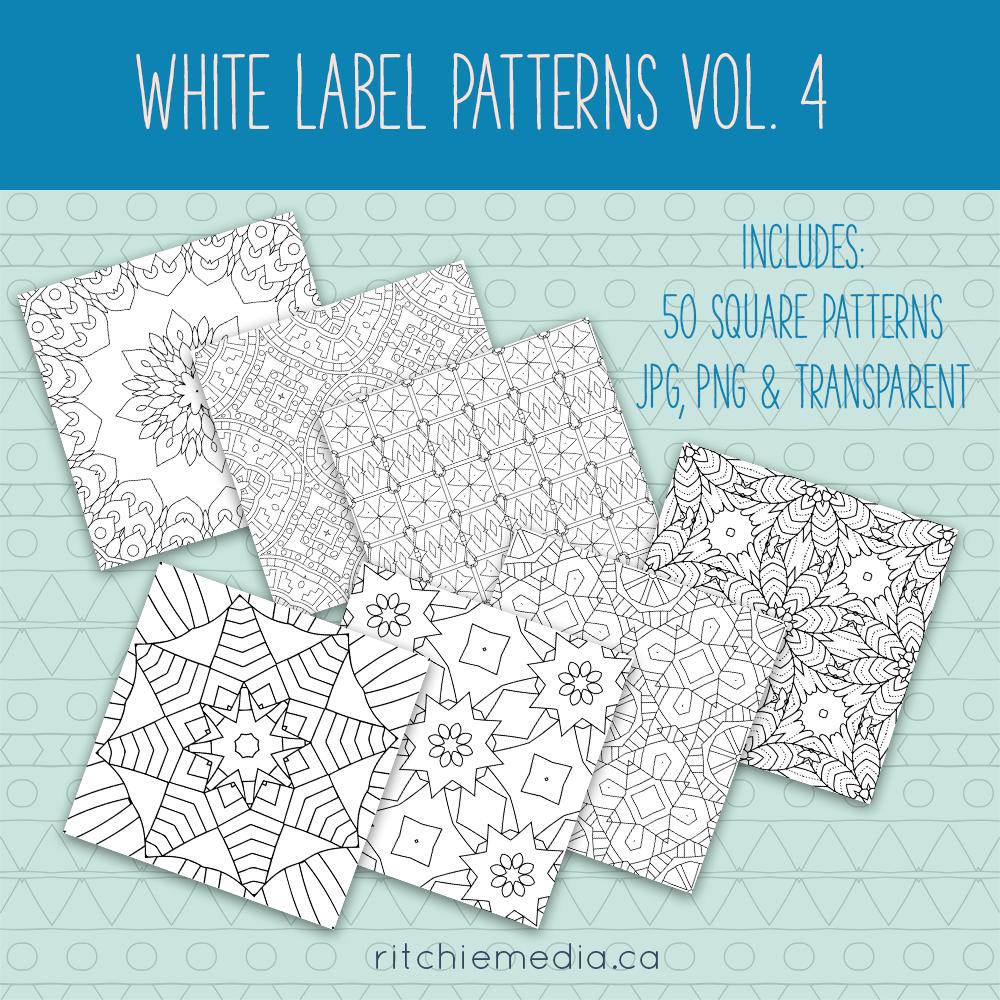 white label patterns 4 promo