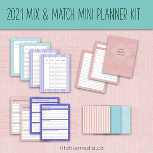 2021 Mini Mix and Match Planner Kit
