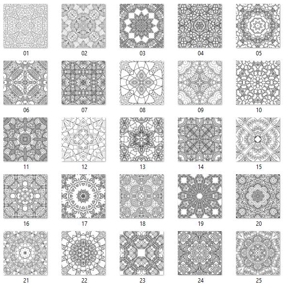 square images 1-25