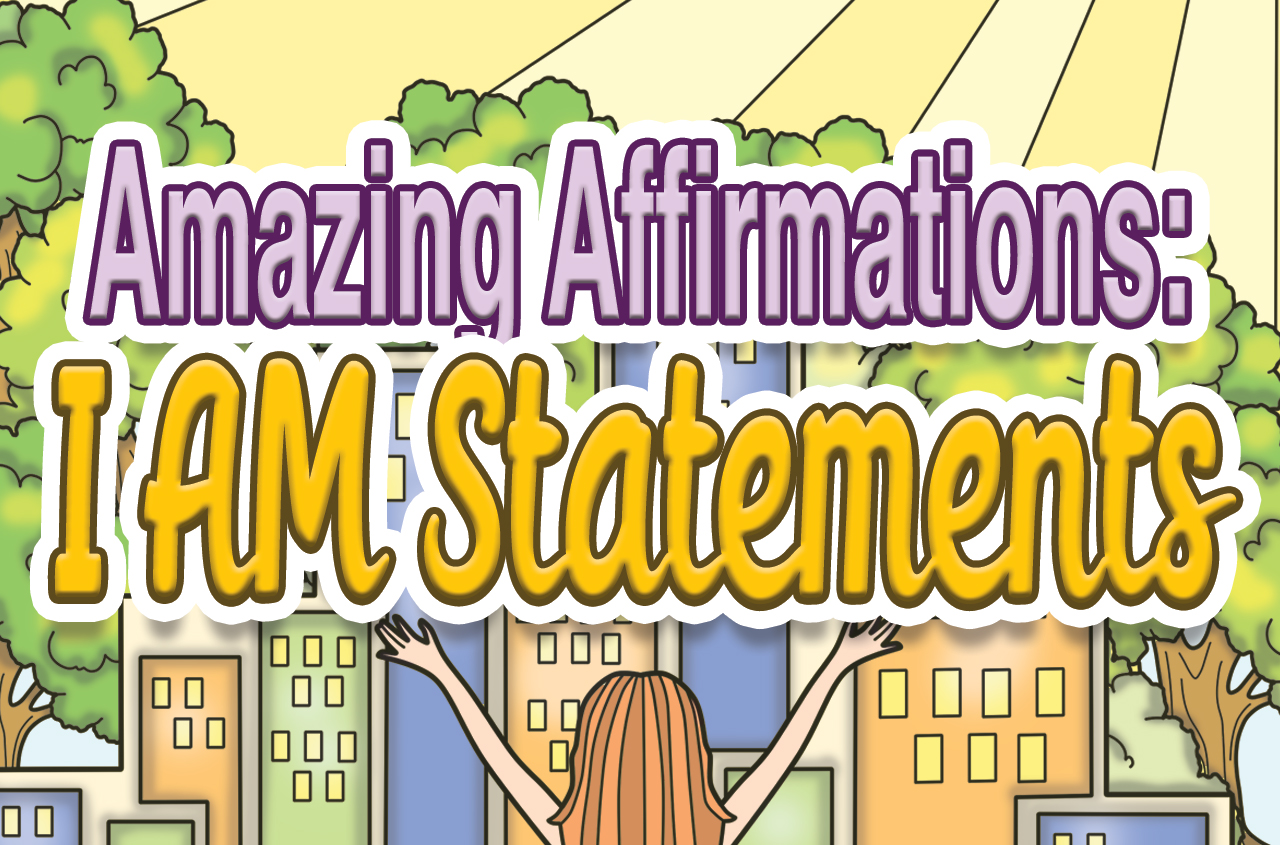 I AM Affirmations Coloring Pages