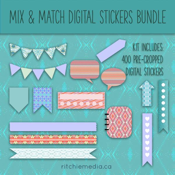 Digital Stickers Bundle Promo