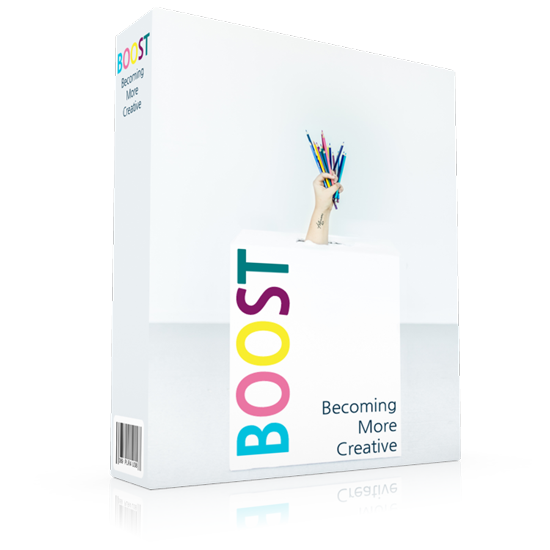 Boost Creativity Software Box