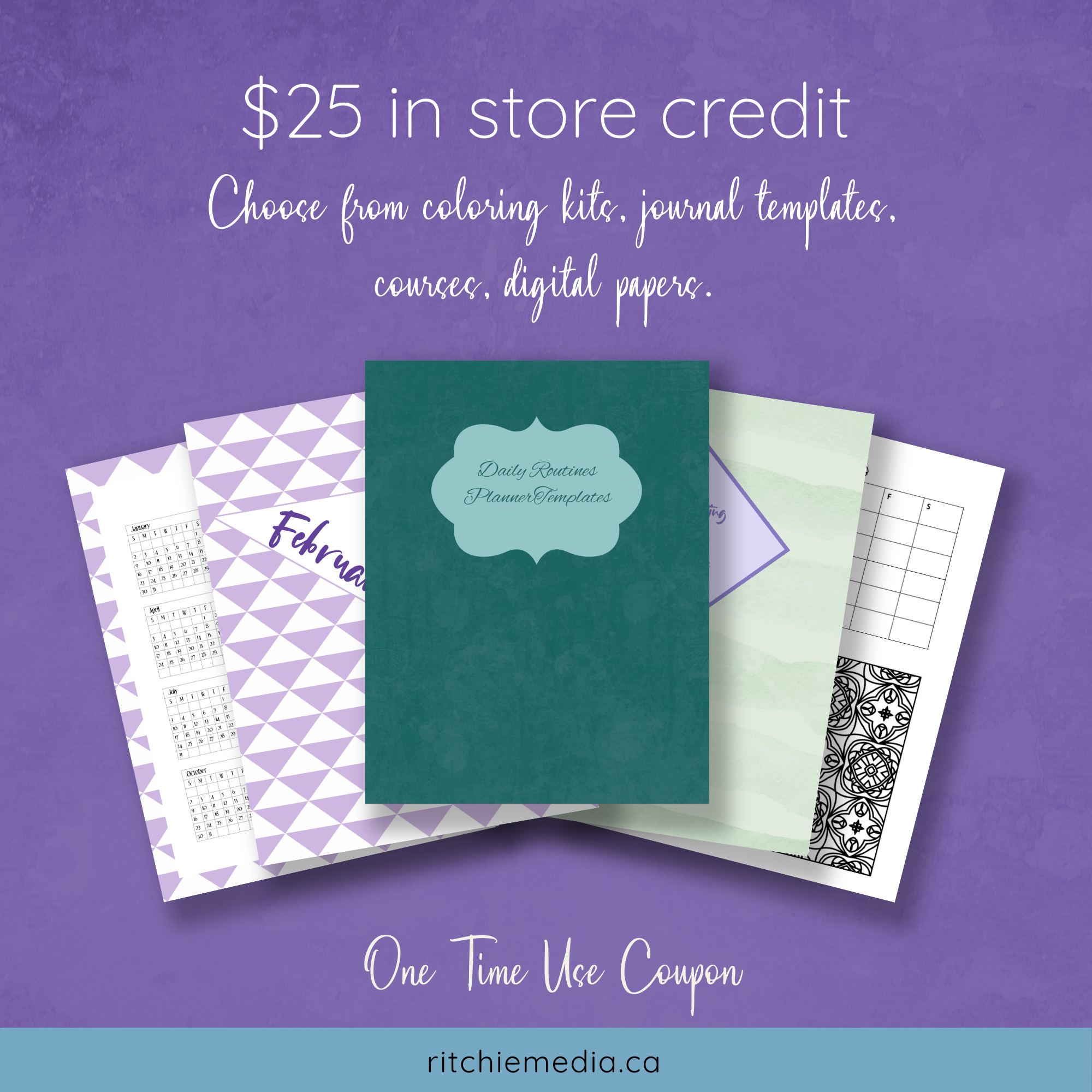 25 Off Coupon Graphic