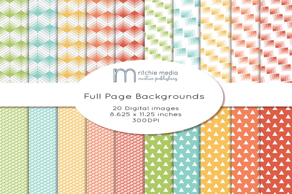 20 Full Page Digital Papers