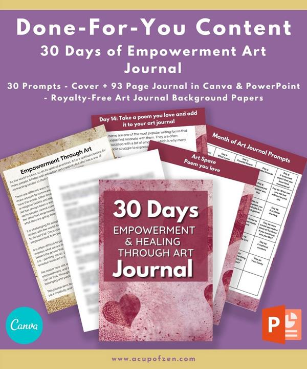 Empowerment Art Journal