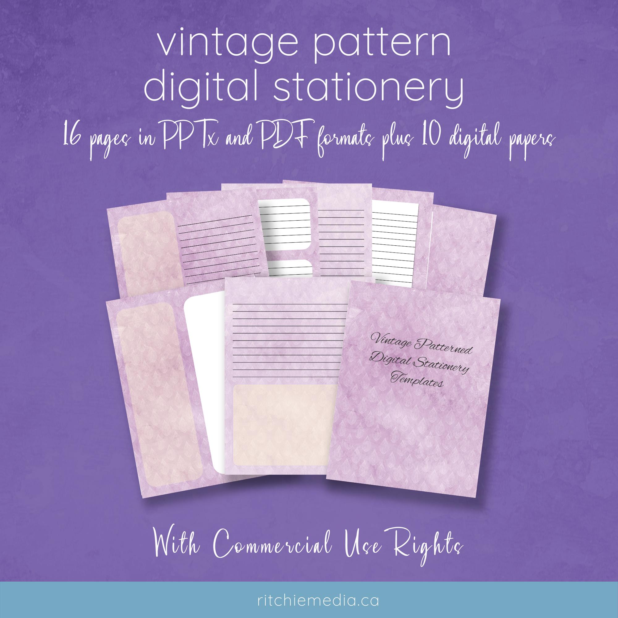 vintage pattern mockups