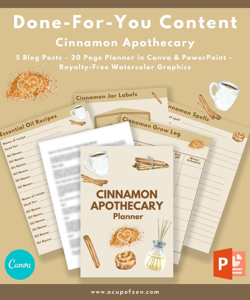 Gabby cinnamon apothecary
