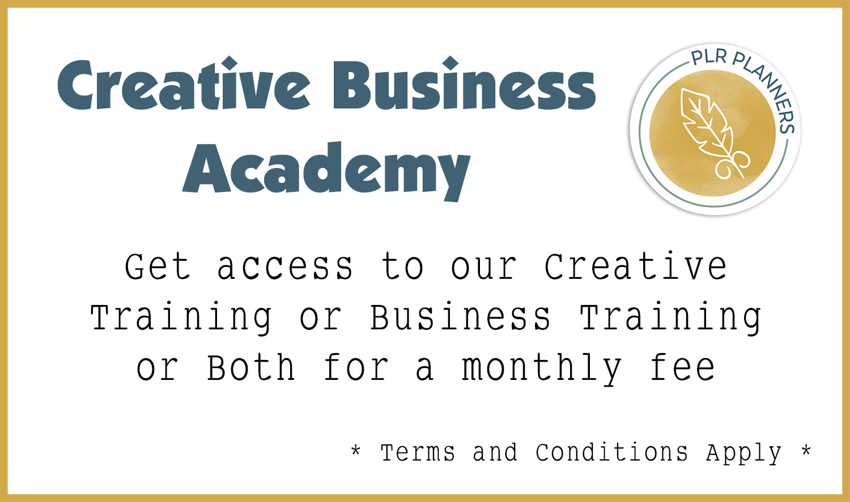 Creative Business Academy Promo