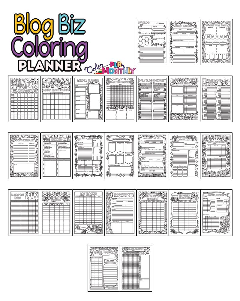 blog biz planner preview
