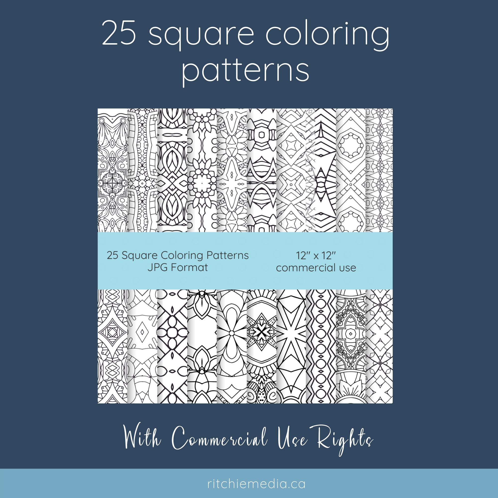 25 patterns promo image